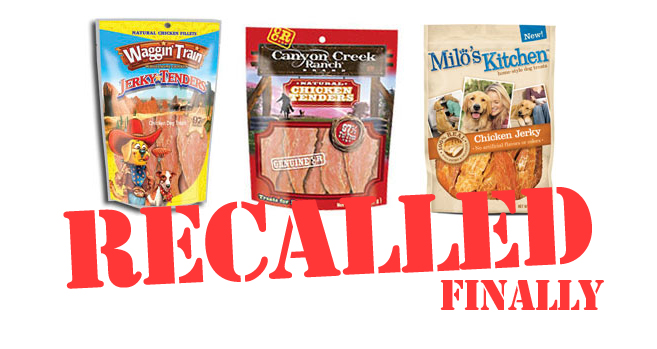 Toxic Dog Treats Recall
