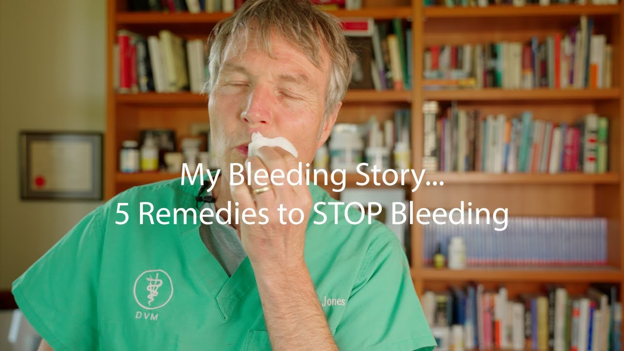 My Blood Loss Event: 5 Ways To Stop Bleeding At Home